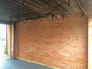 Brick cleaning services after